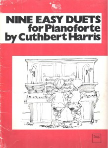 Cuthbert Harris, Nine Easy Duets for Pianoforte