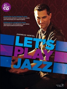 Cover Let's play Jazz, Andreas Hertel