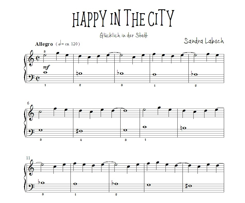 02 Happy in the City - Vorschau