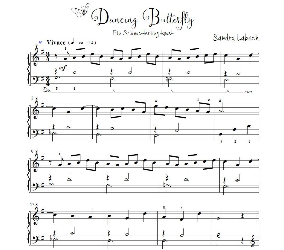 09 Dancing Butterfly - Vorschau