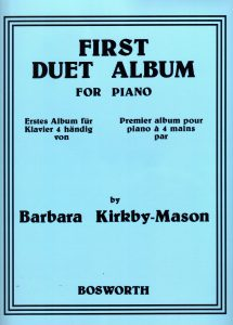 Barbara Kirkby-Mason, First Duet Album, Bosworth