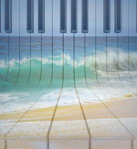 Wellenmusik, kostenloser Download, kostenlose Noten, gratis Klavierlied, Klavierstück